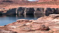 Lake Powell Arizona pan video