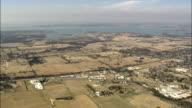 Lake Ray Roberts  - Aerial View - Texas,  Denton County,  United States video