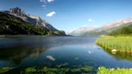 Lake Sils in Switzerland video