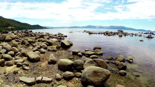 Lake Tahoe Shore Aerial video