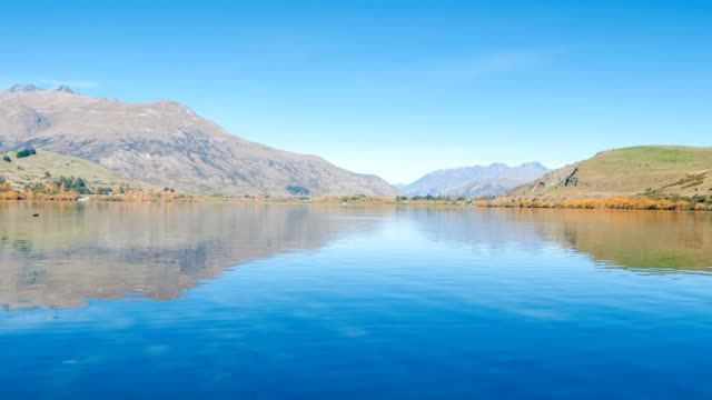 Lake Wanaka and Hayes in Autumn video