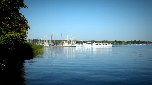 Lakeside panorama - Wannsee (Berlin) video