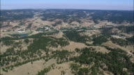 Lame Deer  - Aerial View - Montana, Rosebud County, United States video