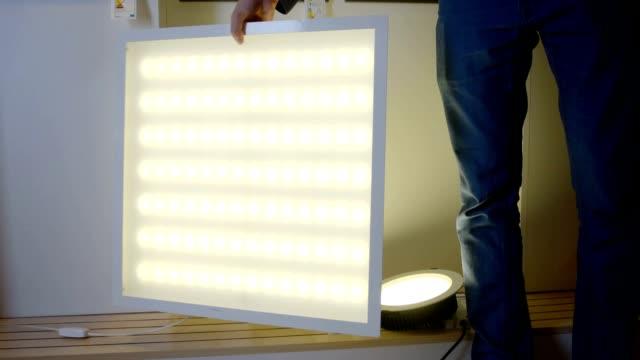 LED Lamp video