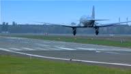 Landing Airplane video