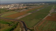 Landing At Bron Airport In Lyon  - Aerial View - Rhône-Alpes, Rhône, Arrondissement de Lyon, France video