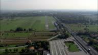 Landing At Lucca Airport  - Aerial View - Tuscany, Provincia di Lucca, Capannori, Italy video