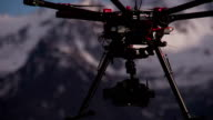 Landing on the Drone Rocky Surface video