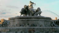 Landmarks of Copenhagen. The Gefion Fountain video