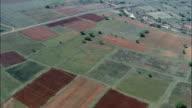 Landscape And Farms Near Nqutu  - Aerial View - KwaZulu-Natal,  South Africa video