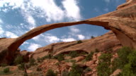 Landscape Arch Timelapse in Arches National Park video