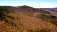 Landscape Around Dixville Notch  - Aerial View - New Hampshire,  Coös County,  United States video