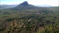 Landscape Around River Sundays  - Aerial View - KwaZulu-Natal,  South Africa video