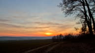 HD TIME-LAPSE: Landscape At Sunset video