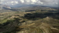 Landscape Between Valerice And Castellammare Del Golfo  - Aerial View - Sicily, Province of Trapani, Buseto Palizzolo, Italy video