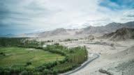 Landscape In Leh Village, Ladakh, India video