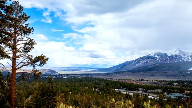 Landscape Mountains Time Lapse video
