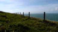 Landscape near Calais, France video