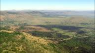 landscape near rorkes drift - Aerial View - KwaZulu-Natal,  uMzinyathi District Municipality,  Msinga,  South Africa video