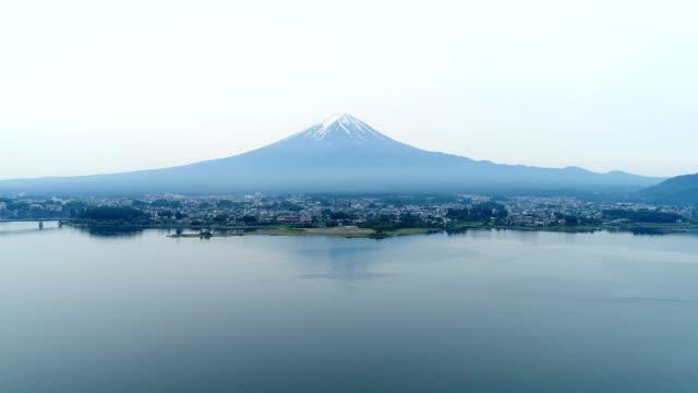 landscape of Mt. Fuji video