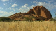 landscape of namibia video
