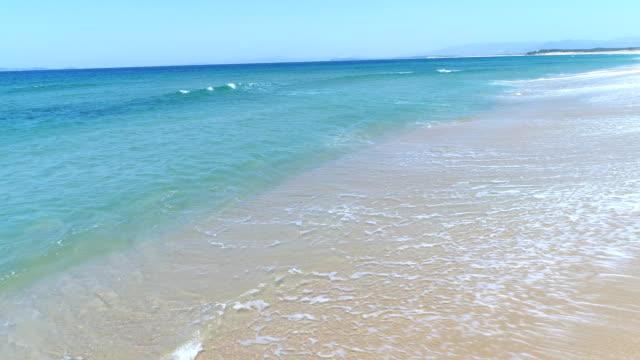 landscape of the beautiful sea video