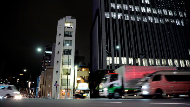 landscape of the Tokyo night video