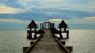 Landscape of Wooded bridge video
