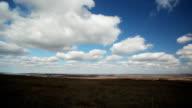 Landscape. Time lapse video