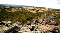 Landscape view from Hanging Rock video