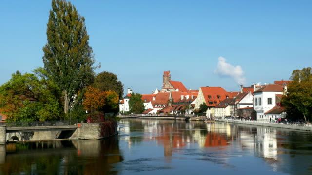 PAN Landshut Isar Riverside (4K/UHD to HD) video