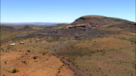 Langberg Hills  - Aerial View - Northern Cape,  South Africa video