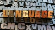 Language WO video