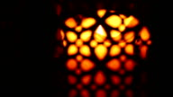 lantern in the darkness (dolly shot) video