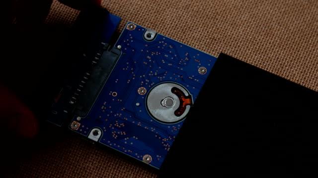 laptop, external hard drive, 2.5-inch video