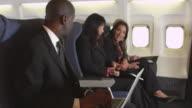 Laptop on a plane video