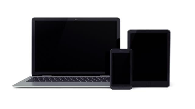 Laptop, Smartphone, Tablet video