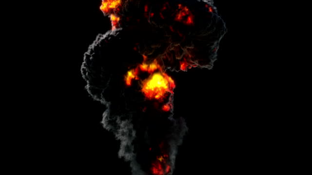 Large Explosion video