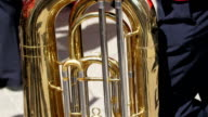 A large instrument called tuba video