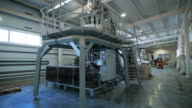 Large machines for packing cereals, grains, as well as groceries video