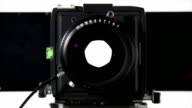 HD Large-format camera shot front view video