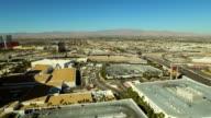 Las Vegas Aerial Strip Freeway Suburbs video