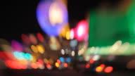 Las Vegas at night video