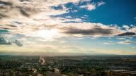 Las Vegas from frenchman mountain time lapse 4K video