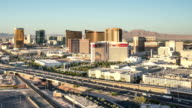 Las Vegas Skyline Panning Time Lapse video