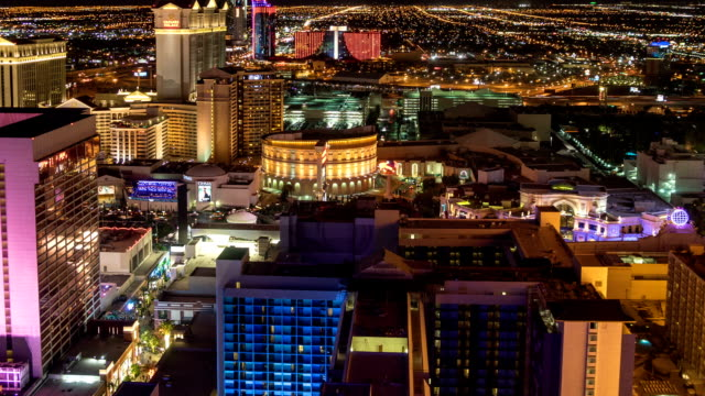 Las Vegas Skyline Time Lapse video