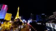 Las Vegas Strip Time Lapse video