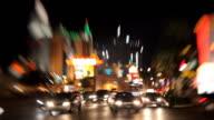 Las Vegas Strip traffic video