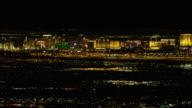 Las Vegas Strip View at Night video