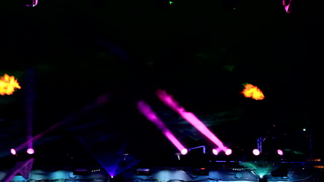 Laser and fire performance video